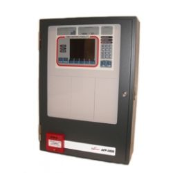 2802 Addressable Fire Panel - 650CAB - 1 Loop Fitted - 3A PSU