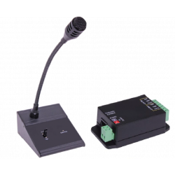 Paging Console & Line Out Switch