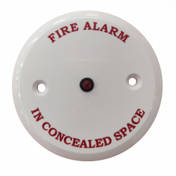 """Remote Indicator - """"Fire Alarm in Concealed Space"""""""