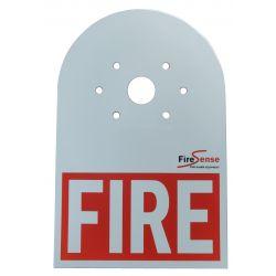 Brigade Strobe Label - FIRE